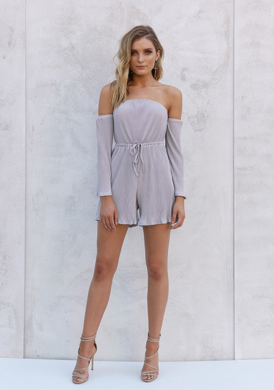 Madison - ANNABELLE PLAYSUIT - LILAC