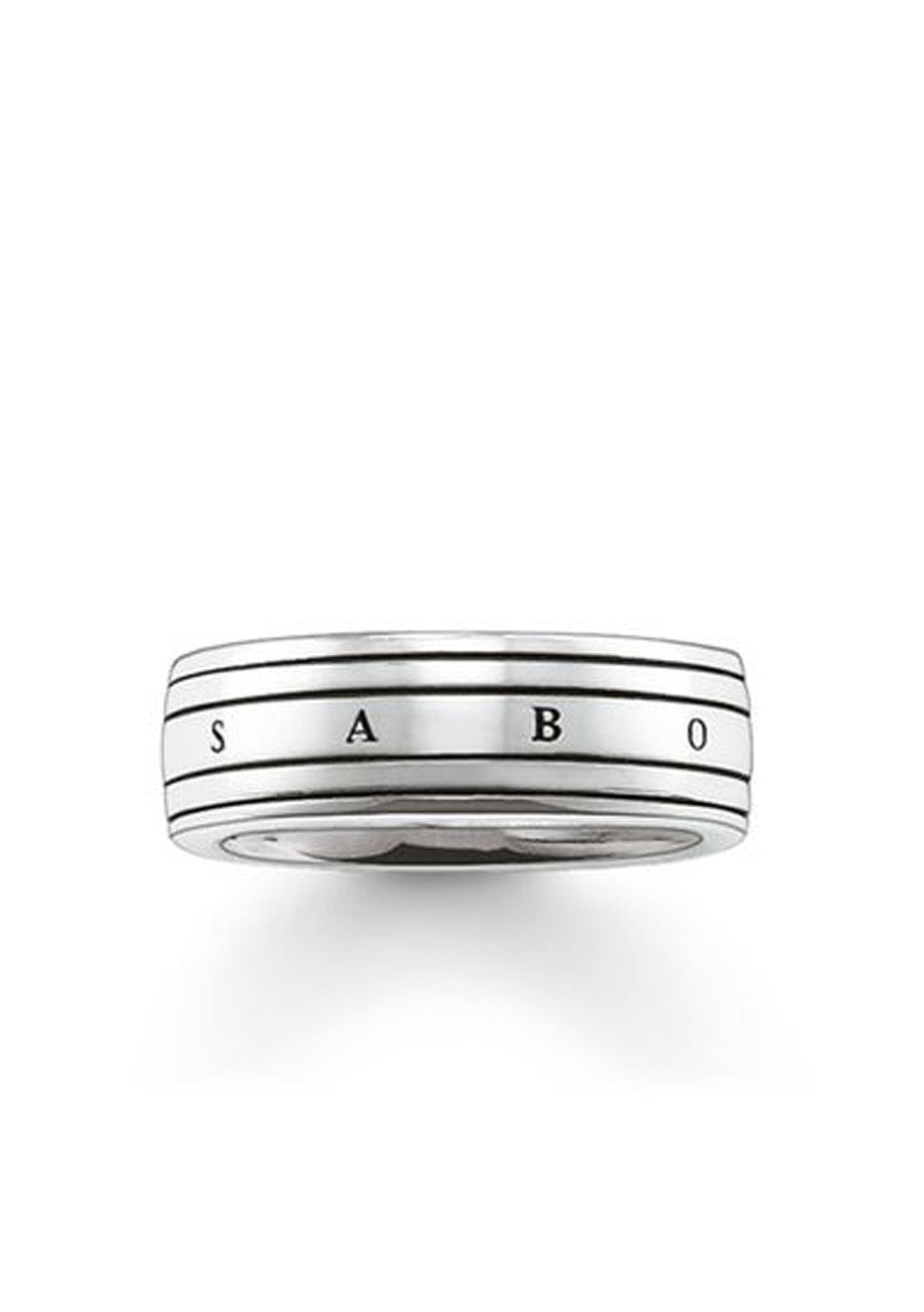 Thomas Sabo  - Men'S Oxidised Signature Ring