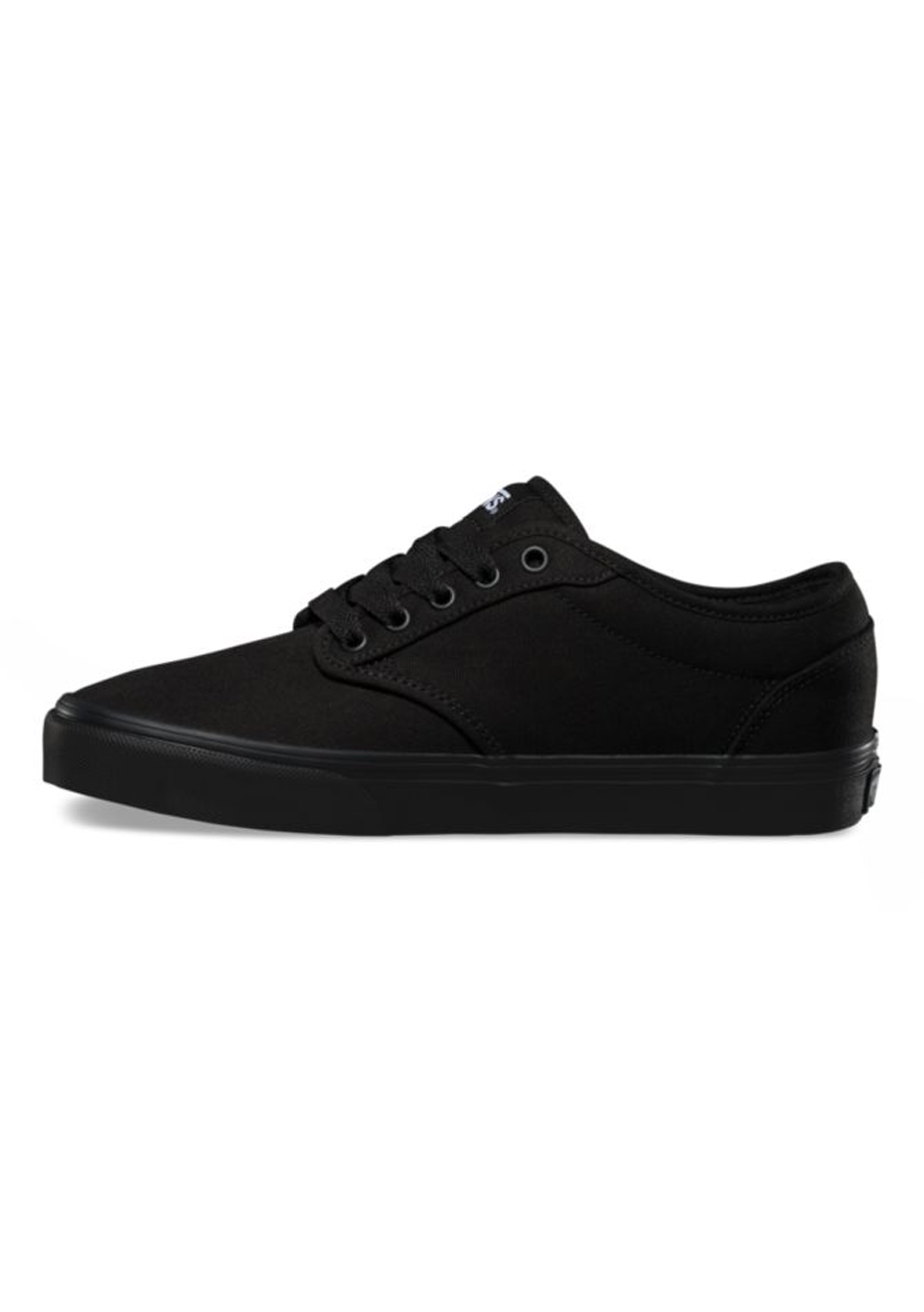 Vans - Womens Atwood Low - Canvas - Black/Black