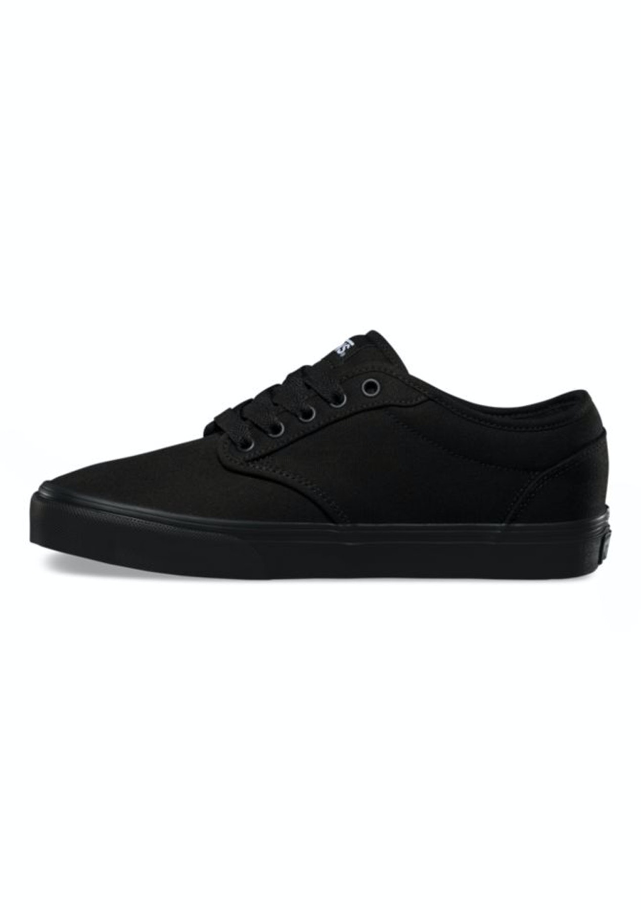 287284e290c1e1 Vans - Womens Atwood Low - Canvas - Black Black - Express Shipping Skechers  + More - Onceit