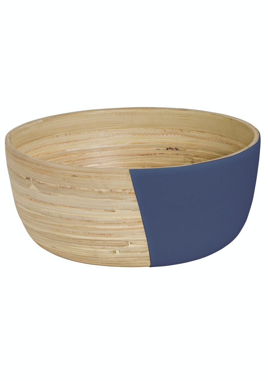 Jason - Lacquered Wooden Bowl Large - Ink