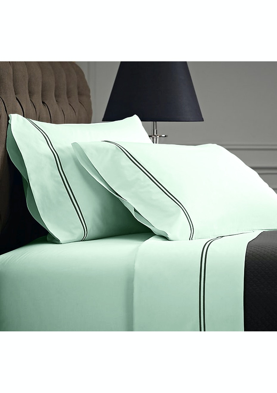 Style & Co 1000 Thread count Egyptian Cotton Hotel Collection Sorrento Sheet sets Mega Queen Mist