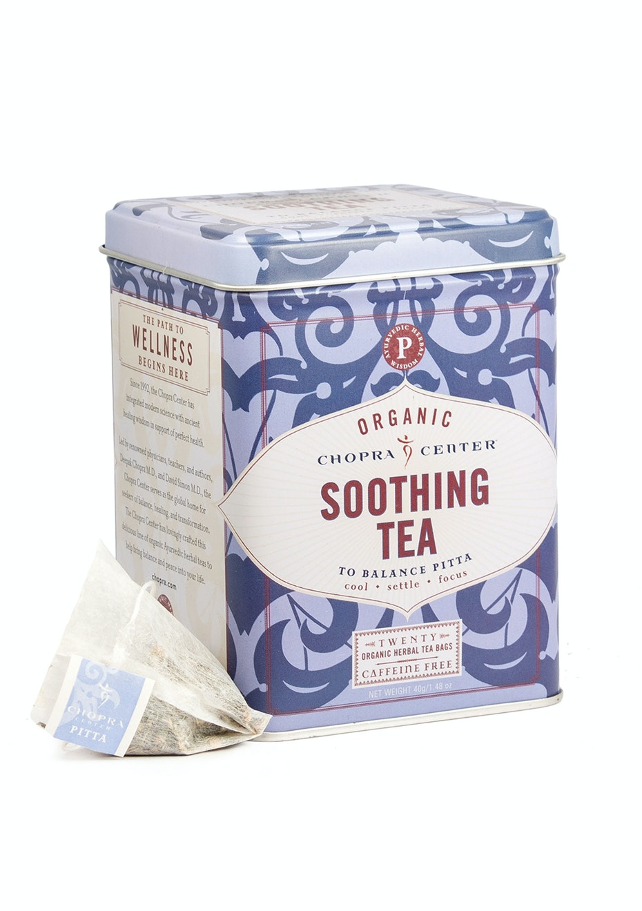 Harney & Sons - Chopra Soothing Herbal - 20 Sachet Tin