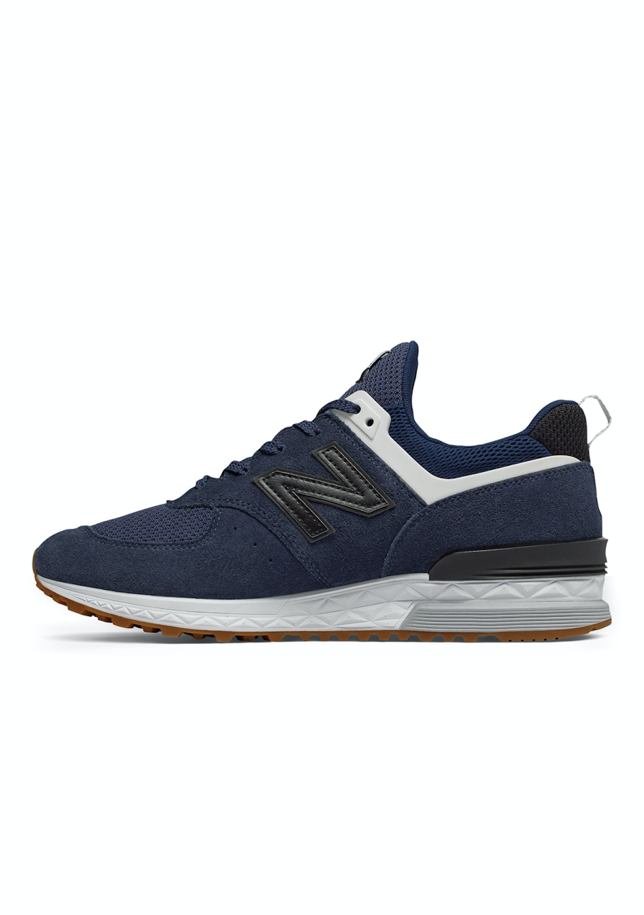 timeless design 43309 403d9 New Balance - Mens 574 Sport - Navy with Black
