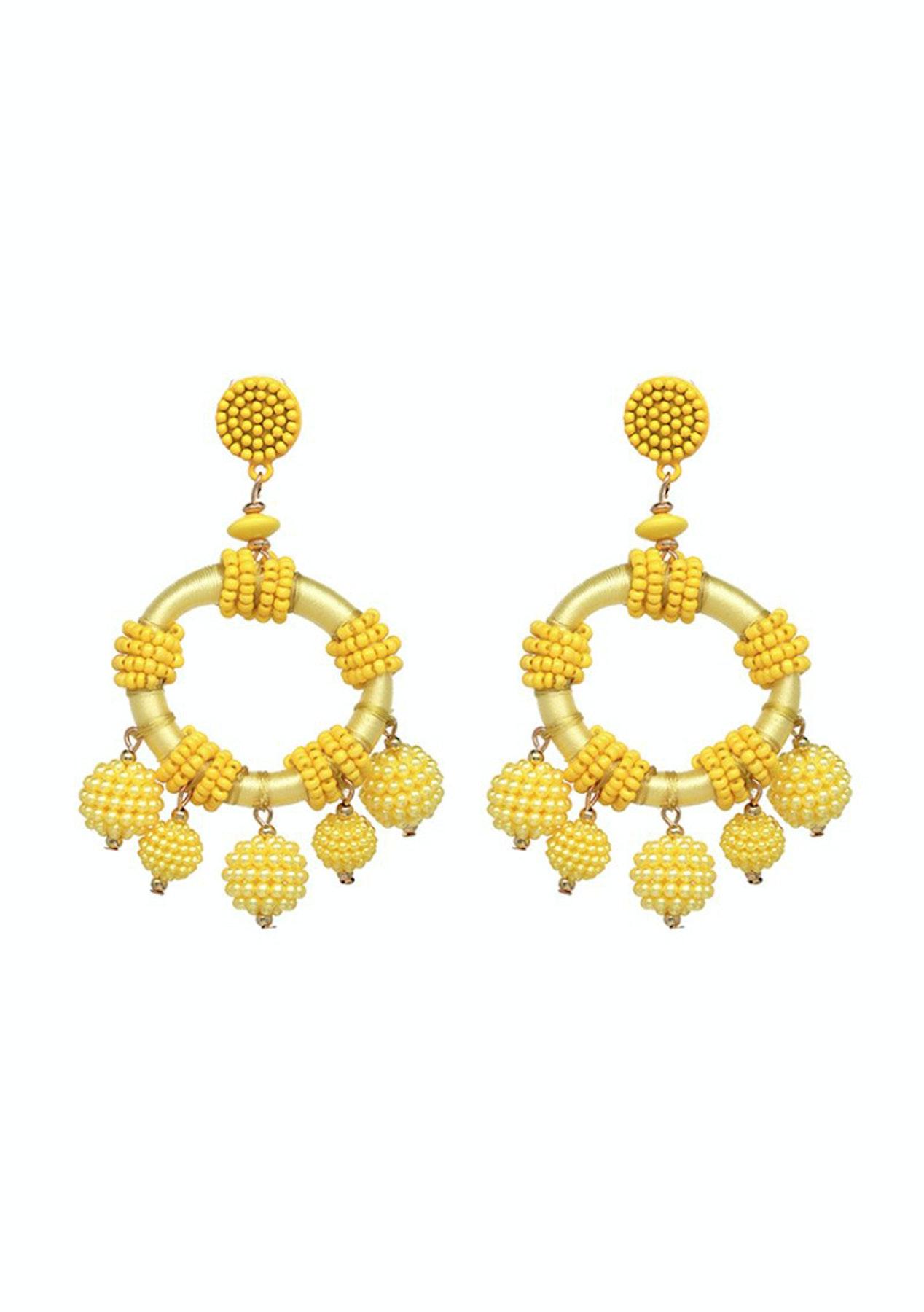 f8370ee604ade ELLE LOUISE - Aria Earrings - Yellow