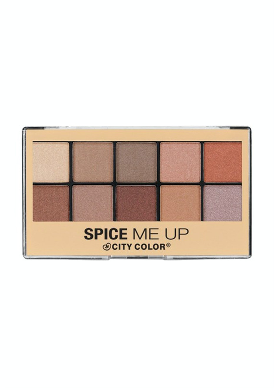 CITY COLOR - SPICE ME UP EYE SHADOW PALETTE