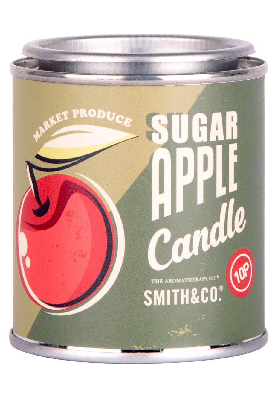 The Aromatherapy Co. Sugar Apple Vintage Tin Candle