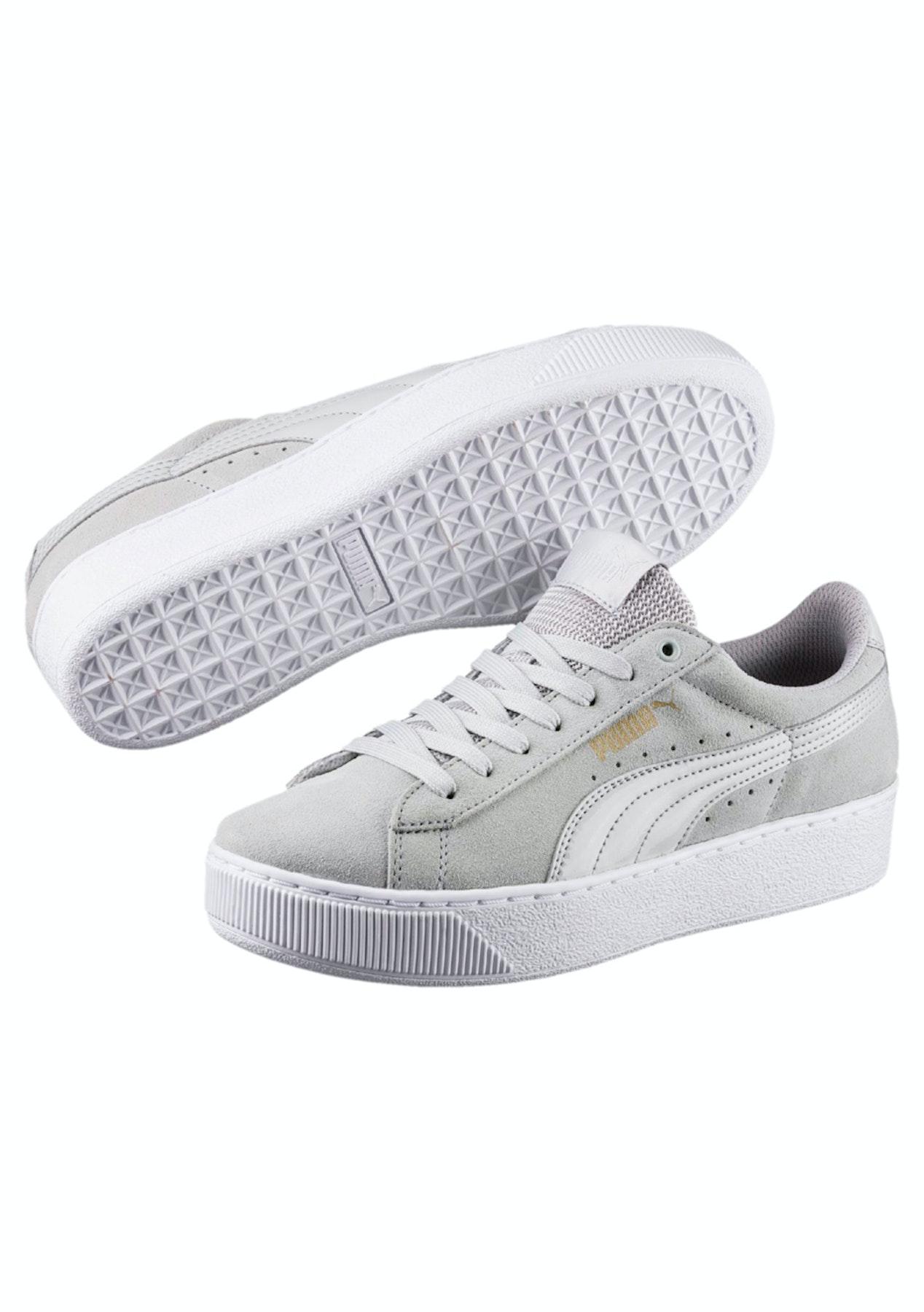 09199ca75a8 Puma Womens - Puma Vikky Platform - Grey Violet - Shoe Garage Sale - Onceit