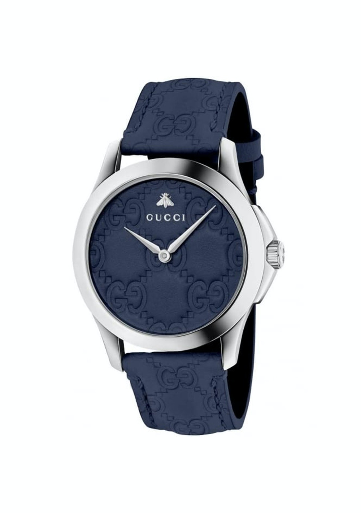 bbb292a0274 Gucci - YA1264032  G-Timeless Blue Dial Watch - 48hour Gucci Watches -  Onceit