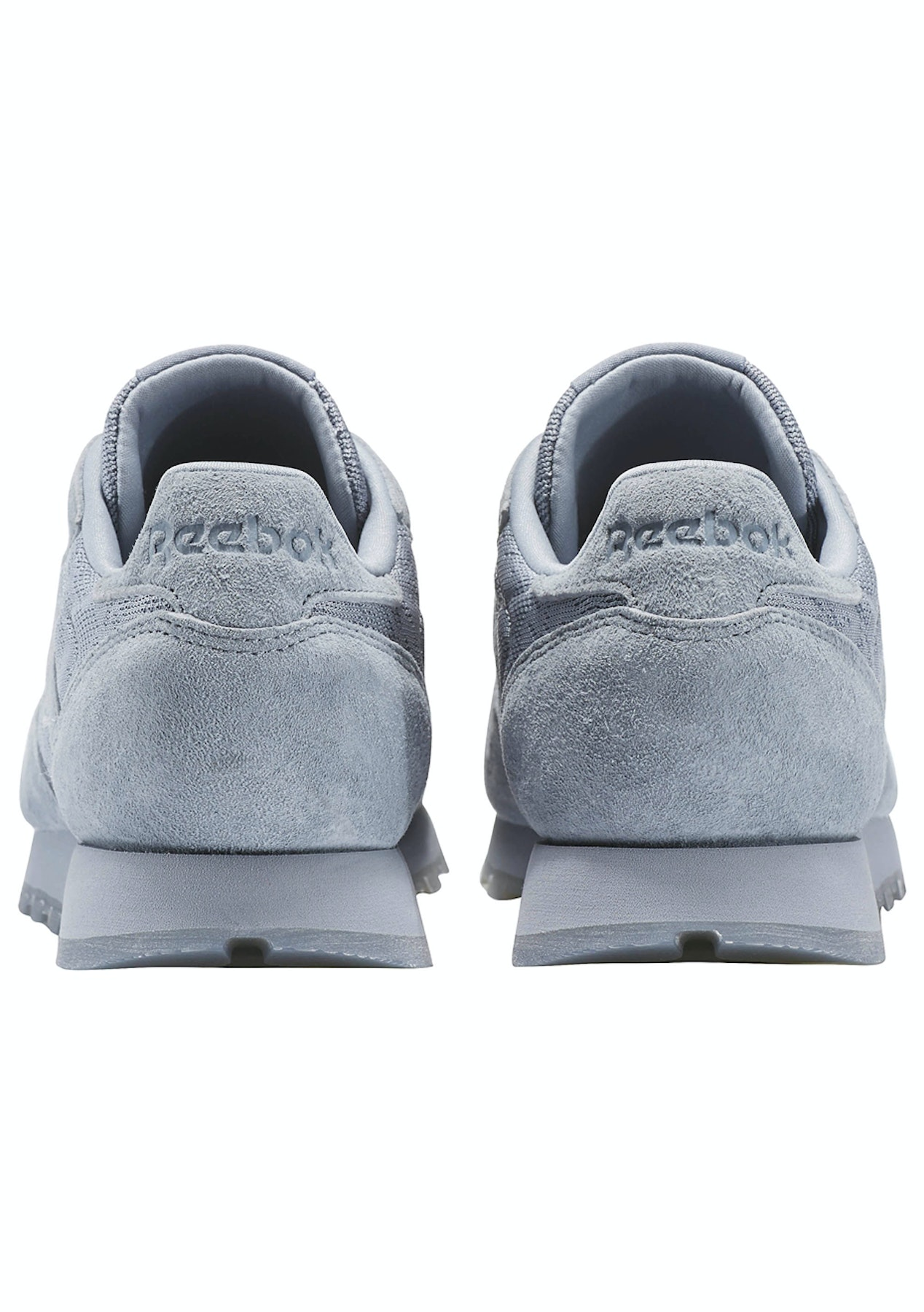 89a10b165ea Reebok Womens - Classic Leather Lace Meteor Grey White - 50% Off Reebok -  Onceit
