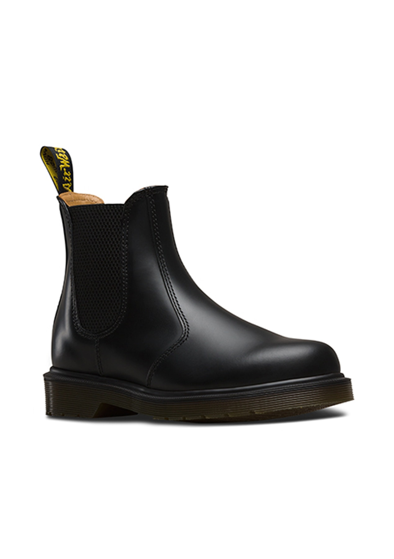 dr martens 2976 chelsea boot black smooth dr martens. Black Bedroom Furniture Sets. Home Design Ideas