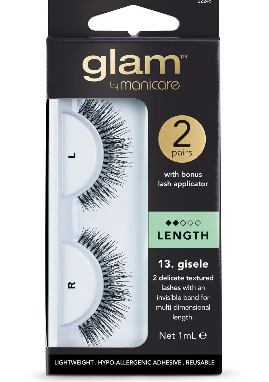Manicare Glam  - Gisele Lashes Pack 2