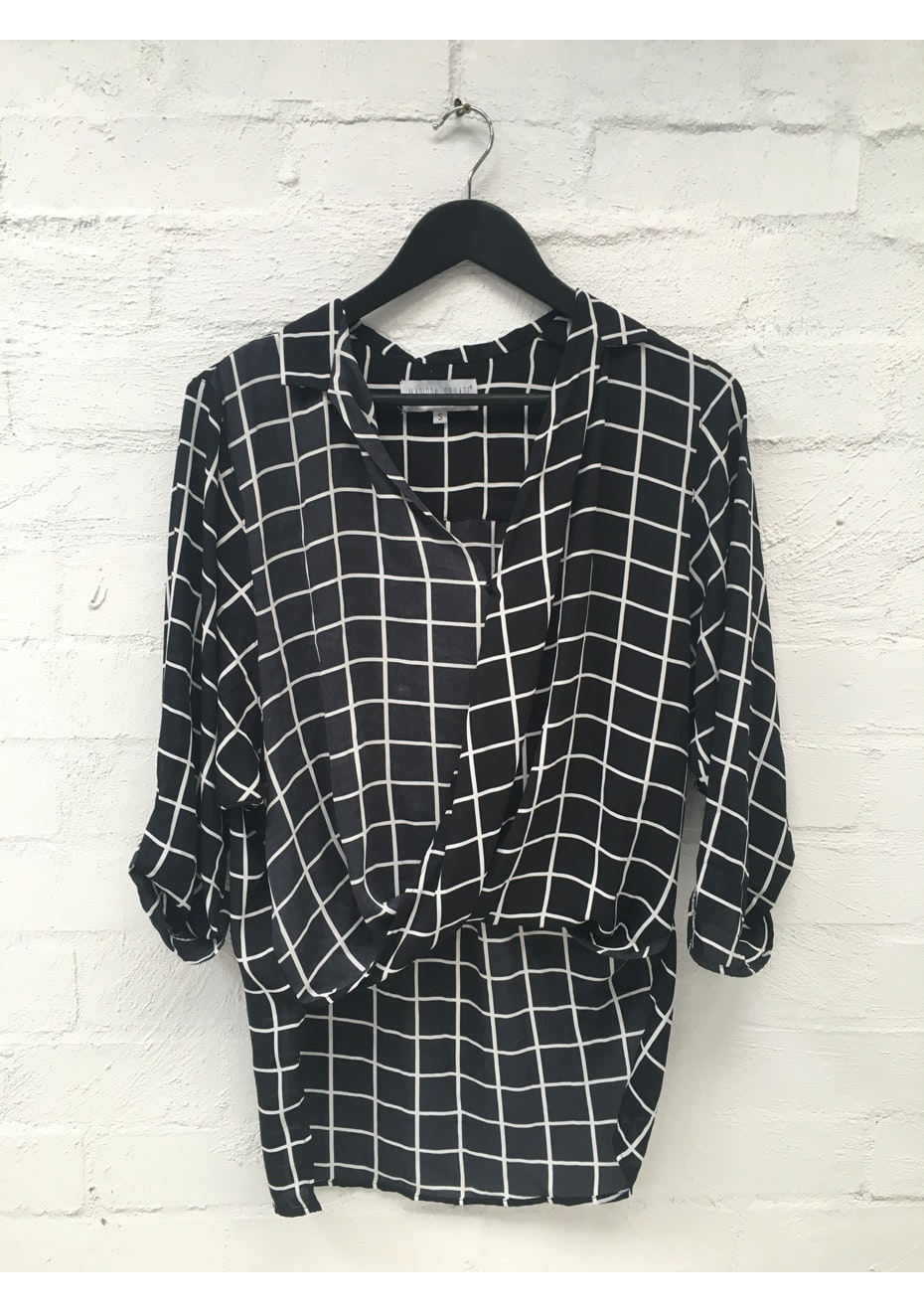 Madison - CHARLOTTE BLOUSE - BLACK