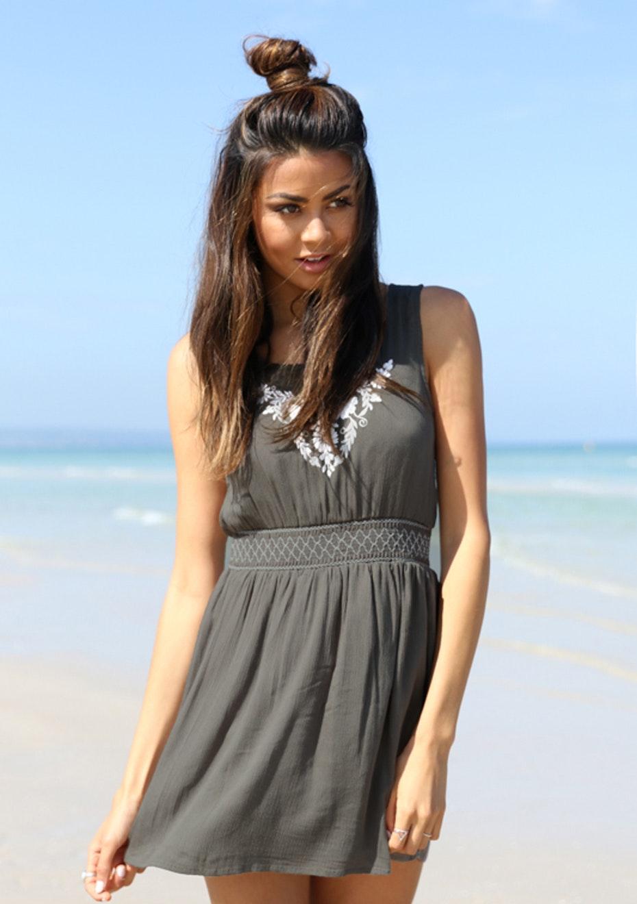 Madison - Traveller Dress - Khaki