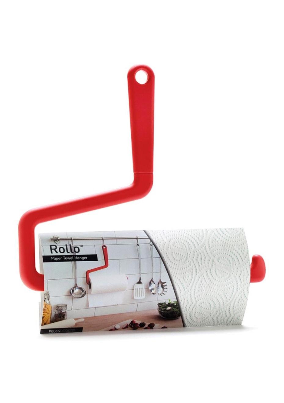 Rollo - Paper Towel Hanger - Red