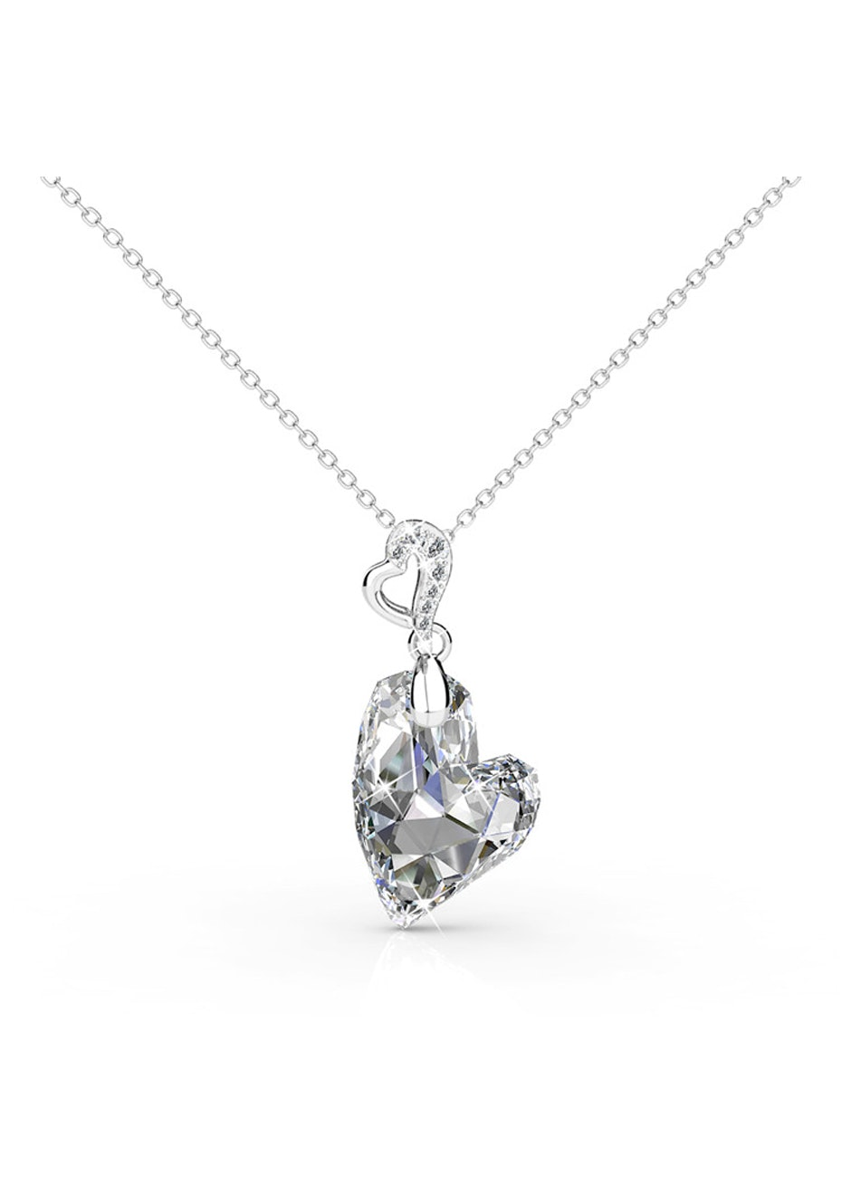 Heart Of Isla Pendant Necklace Embellished with Crystals from Swarovski