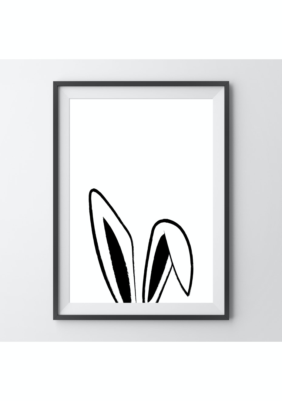 Simply Creative - Bunny - A4 Colour Print