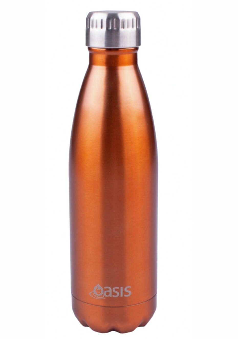 Oasis - Insulated Drink Bottle 500ml - Copper