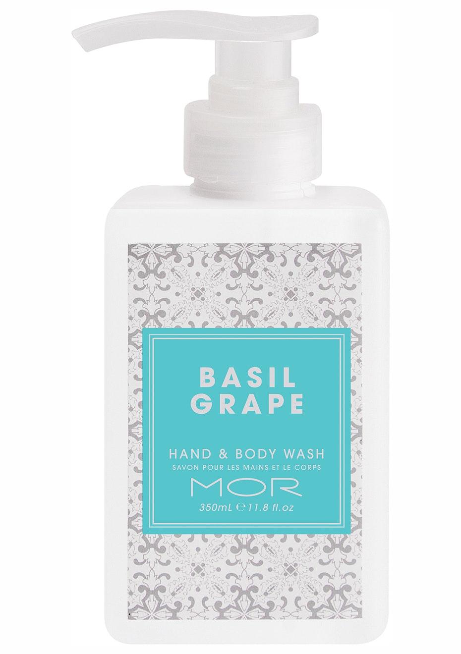 MOR - Hand & Body Wash 350ml Basil Grape