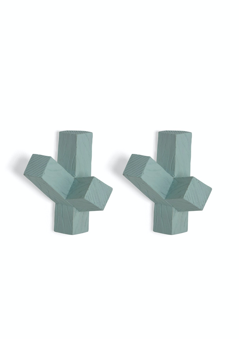 Me & My Trend - Set of 2 Mint Cactus Wall Hooks
