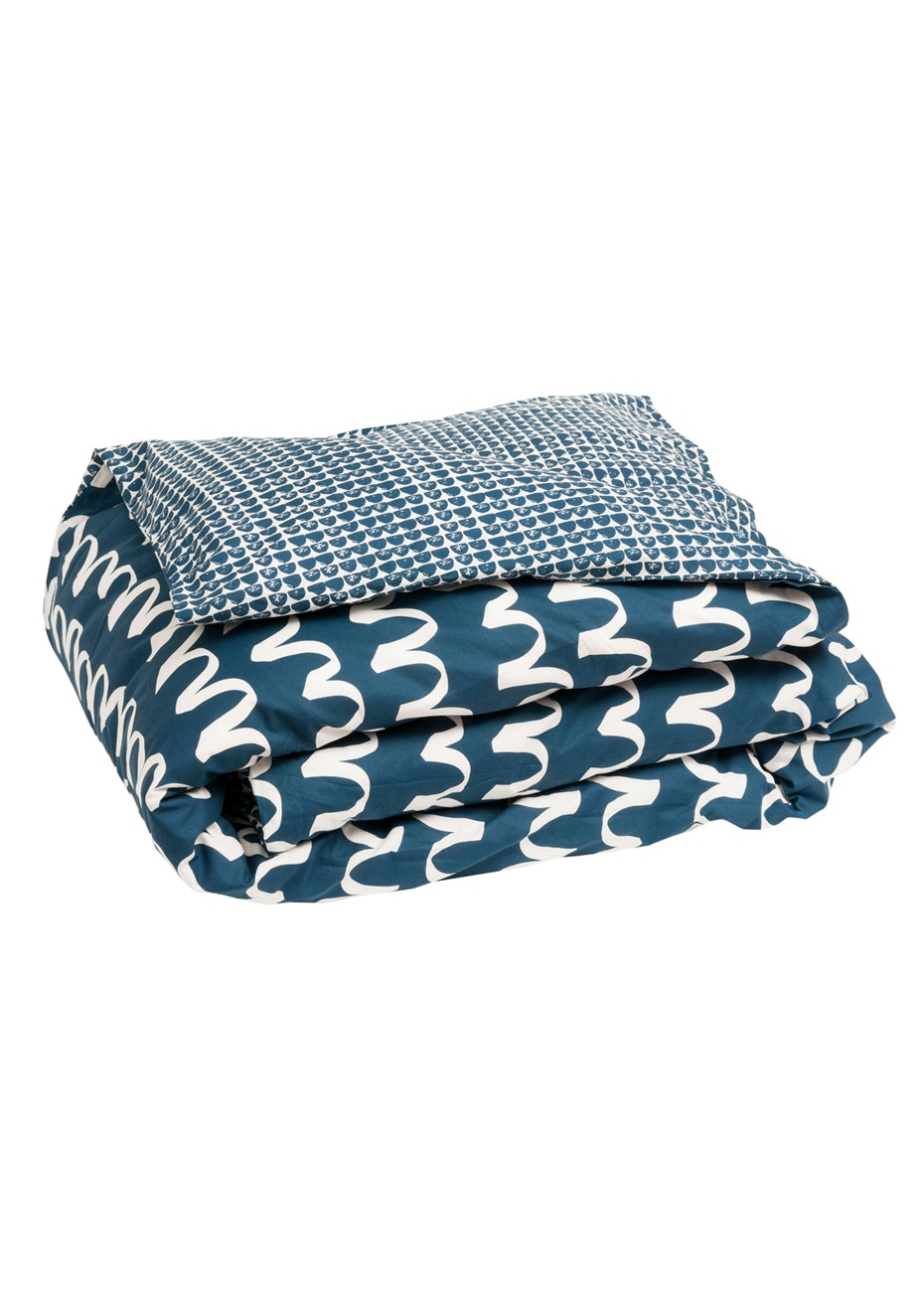 General Eclectic - BlueWaves Duvet Cover - King Single