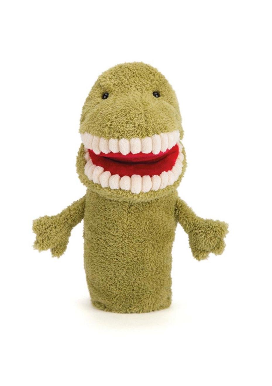 Toothy T Rex Hand Puppet