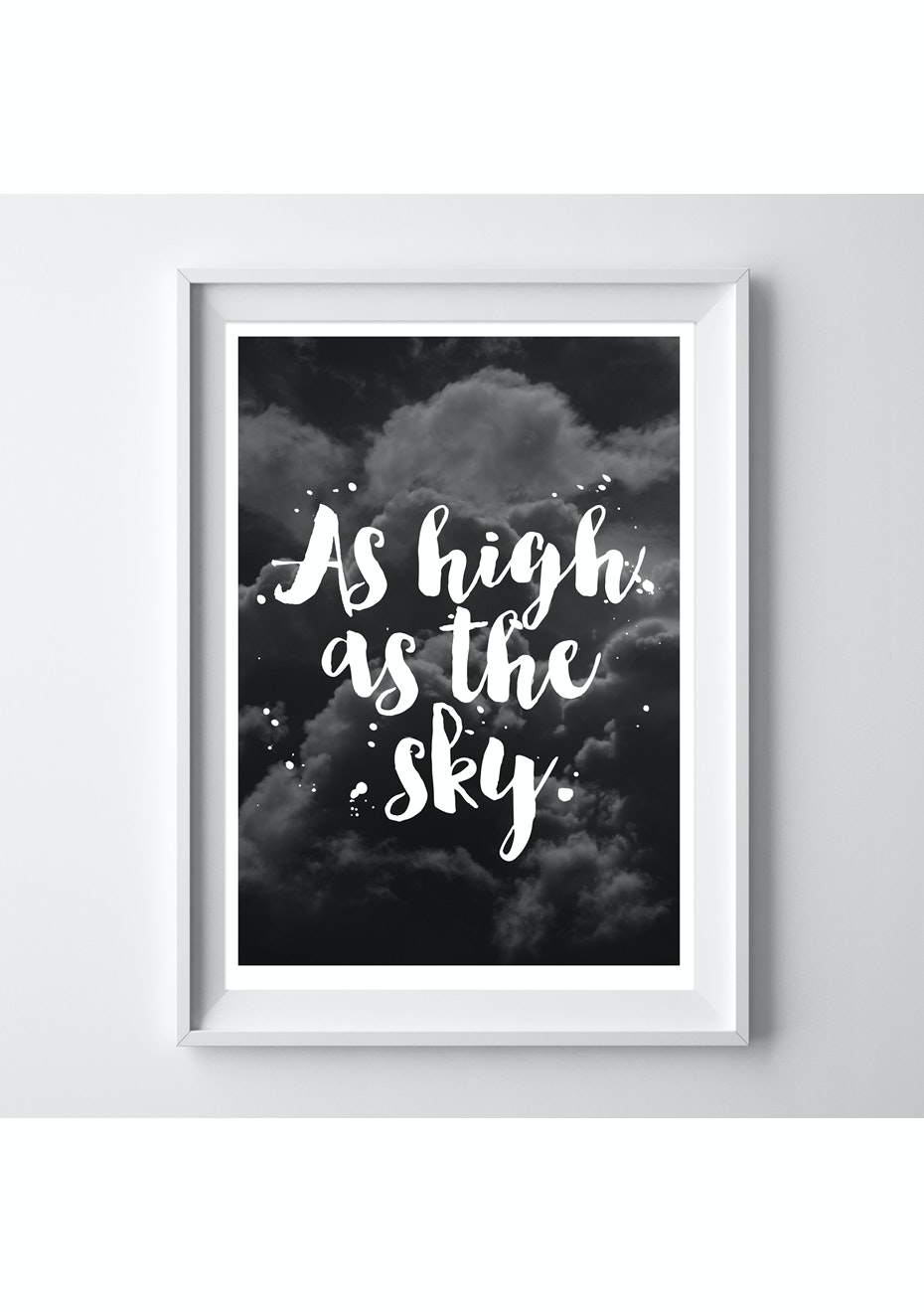 Simply Creative - High As The Sky - A4 Colour Print