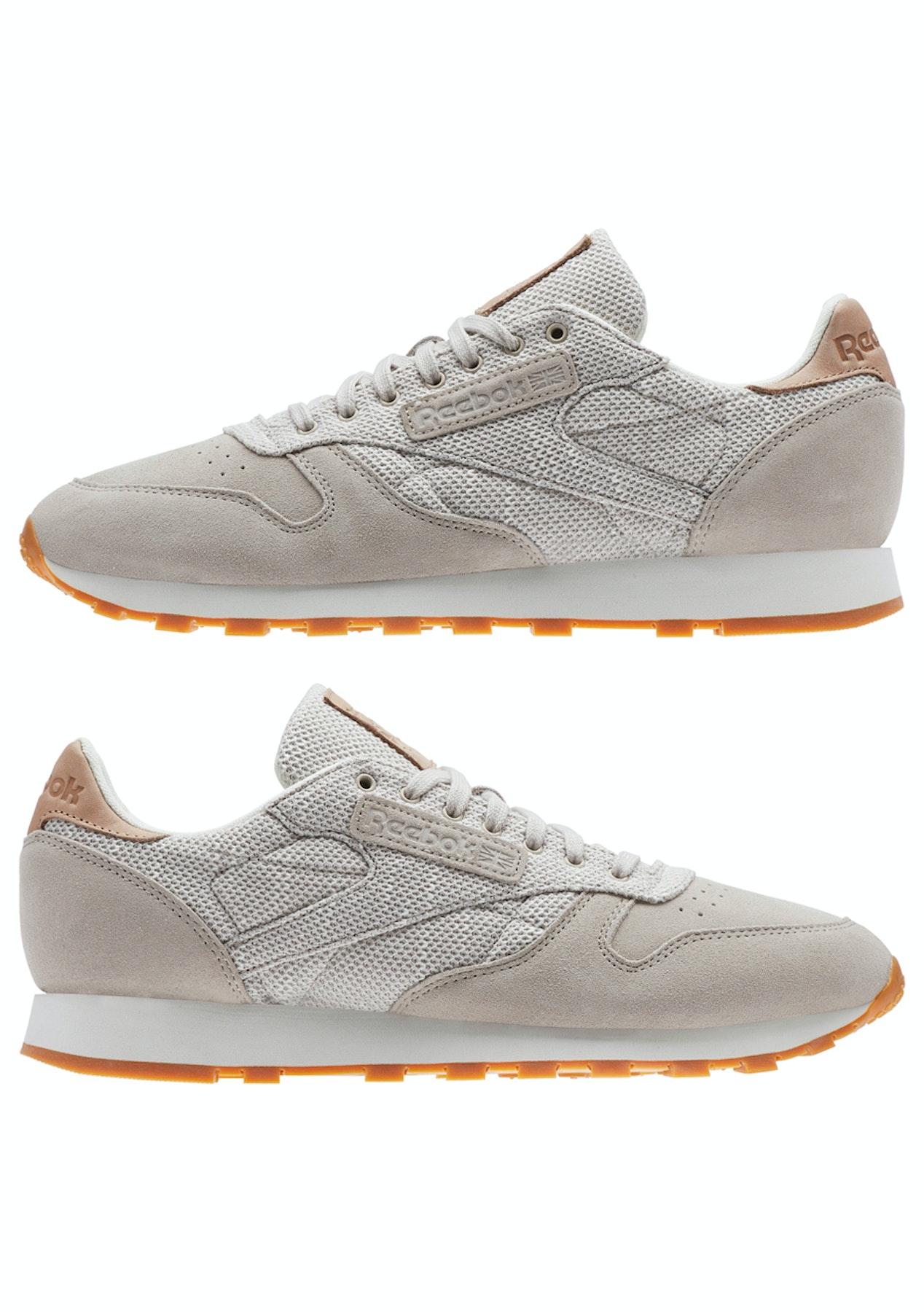 1577557d8ff Reebok Mens - Cl Leather Ebk - Sandstone Chalk-Gum - Mega Menswear  Clearance - Onceit