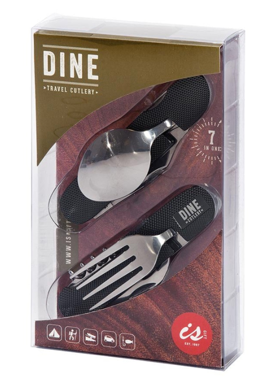 DINE Travel Cutlery - Dark Green