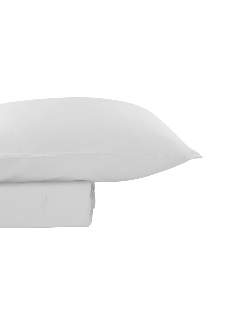 Thermal Flannel Sheet Sets - White - Double Bed