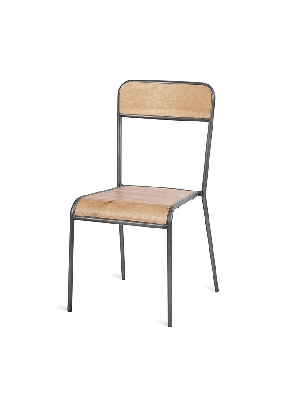 Furniture By Design - Skhol Chair - Brushed Metal