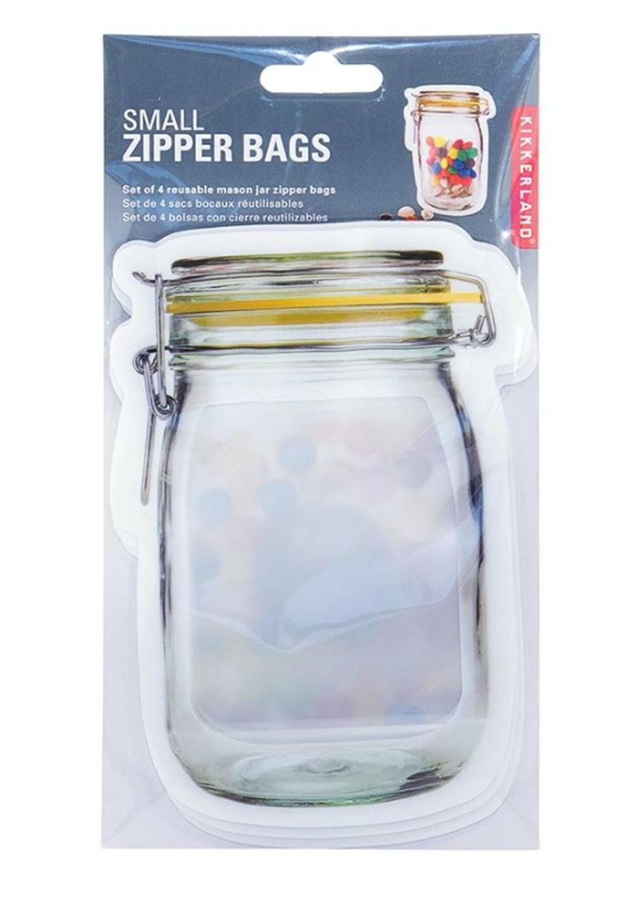 Zipper Bags - Small - Set of 4