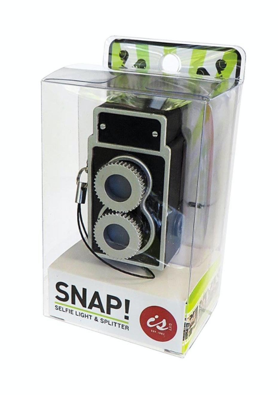 SNAP! Selfie Light & Splitter - Black