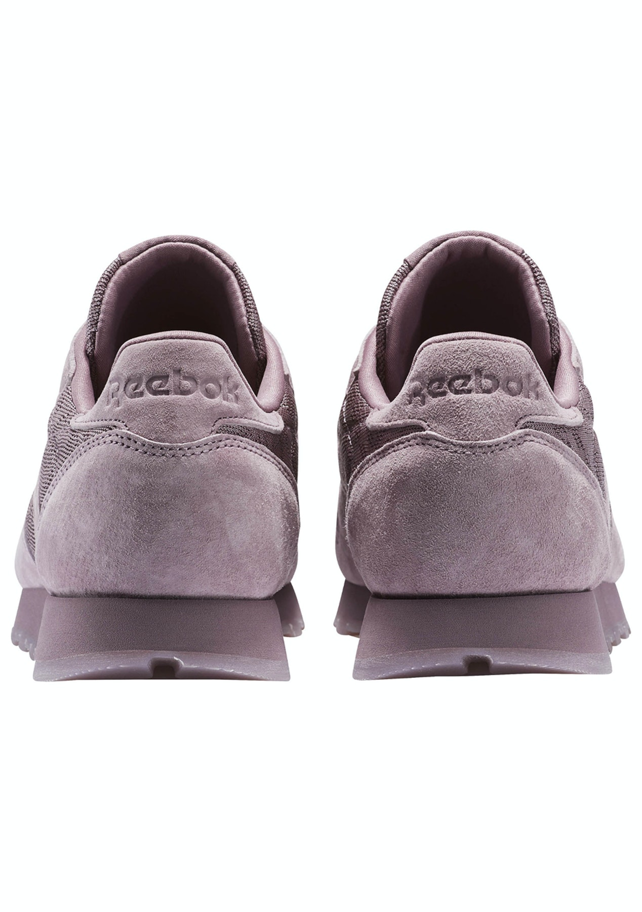 ee353e0654f7fa Reebok Womens - Classic Leather Lace Smoky Orchid White - 50% Off Reebok -  Onceit