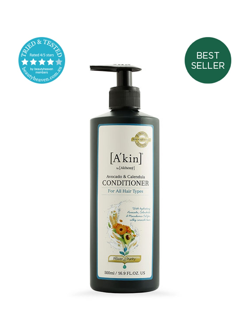 A'kin  - Avocado & Calendula Conditioner 500ml