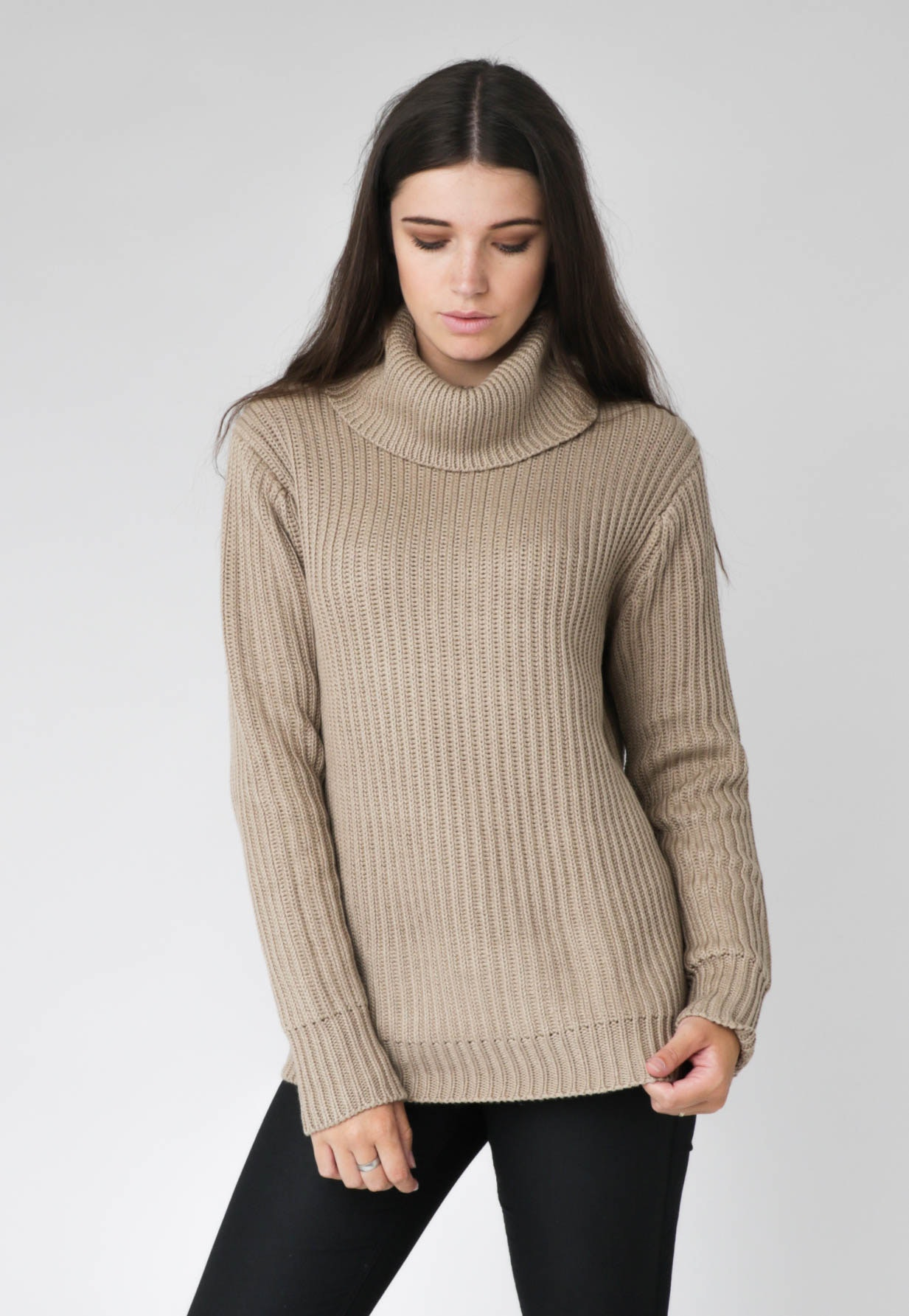 All About Eve - Holiday Knit Jumper - Camel