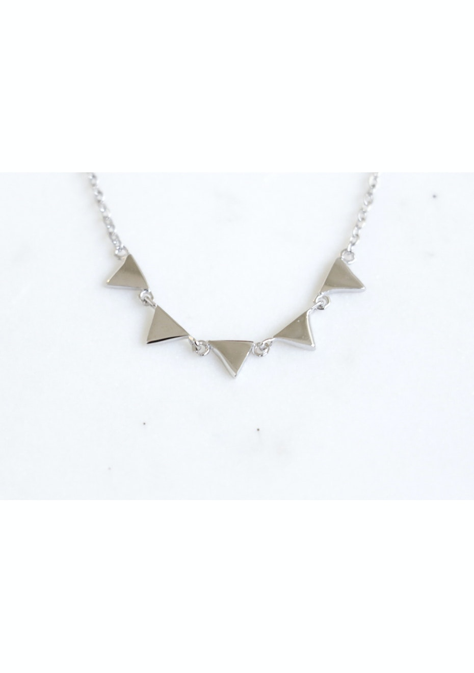 Bunting Necklace  - 925 Silver