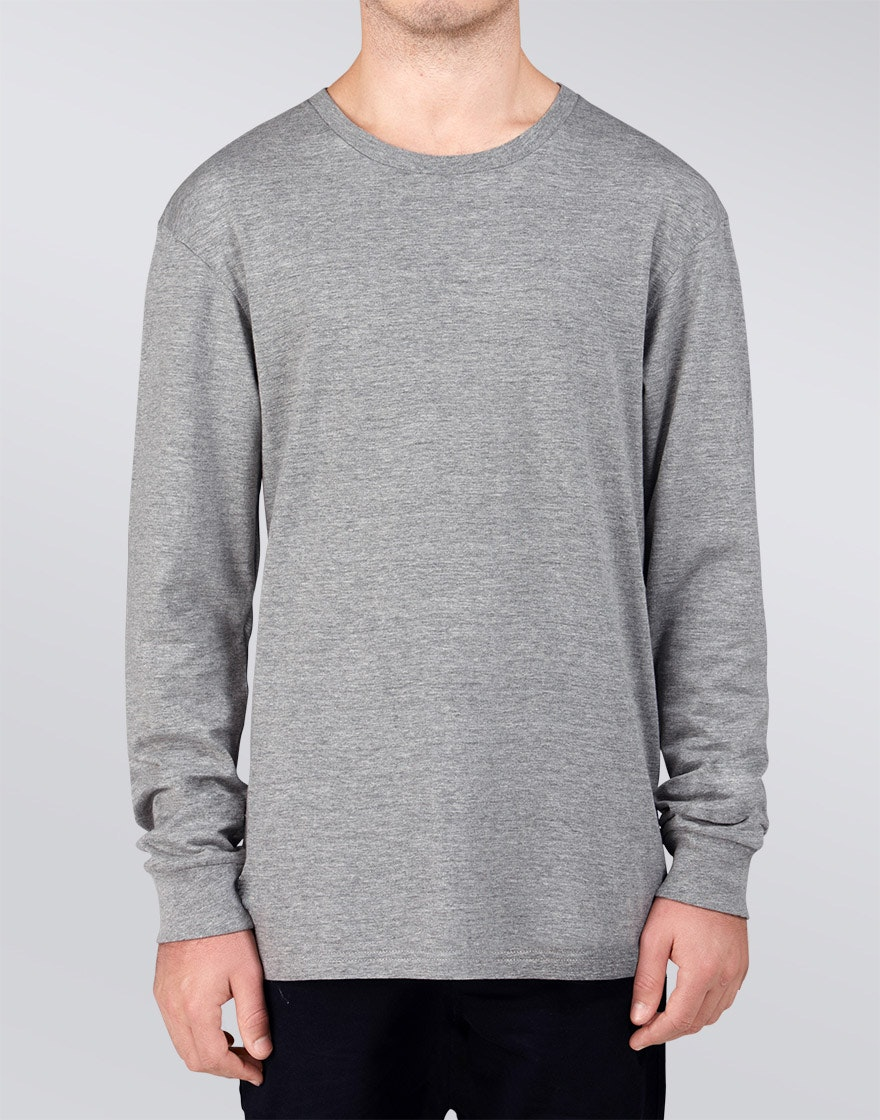 DSCRT - Vacant Longsleeve Tee - Grey