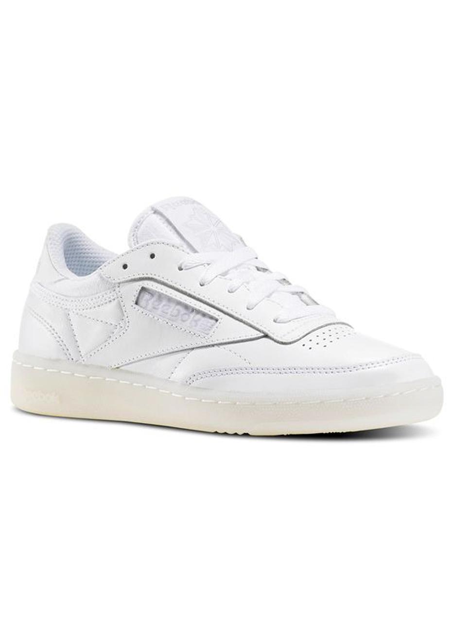 Reebok Womens CL LTHR SeaWorn Light Grey Sneaker Women NZ