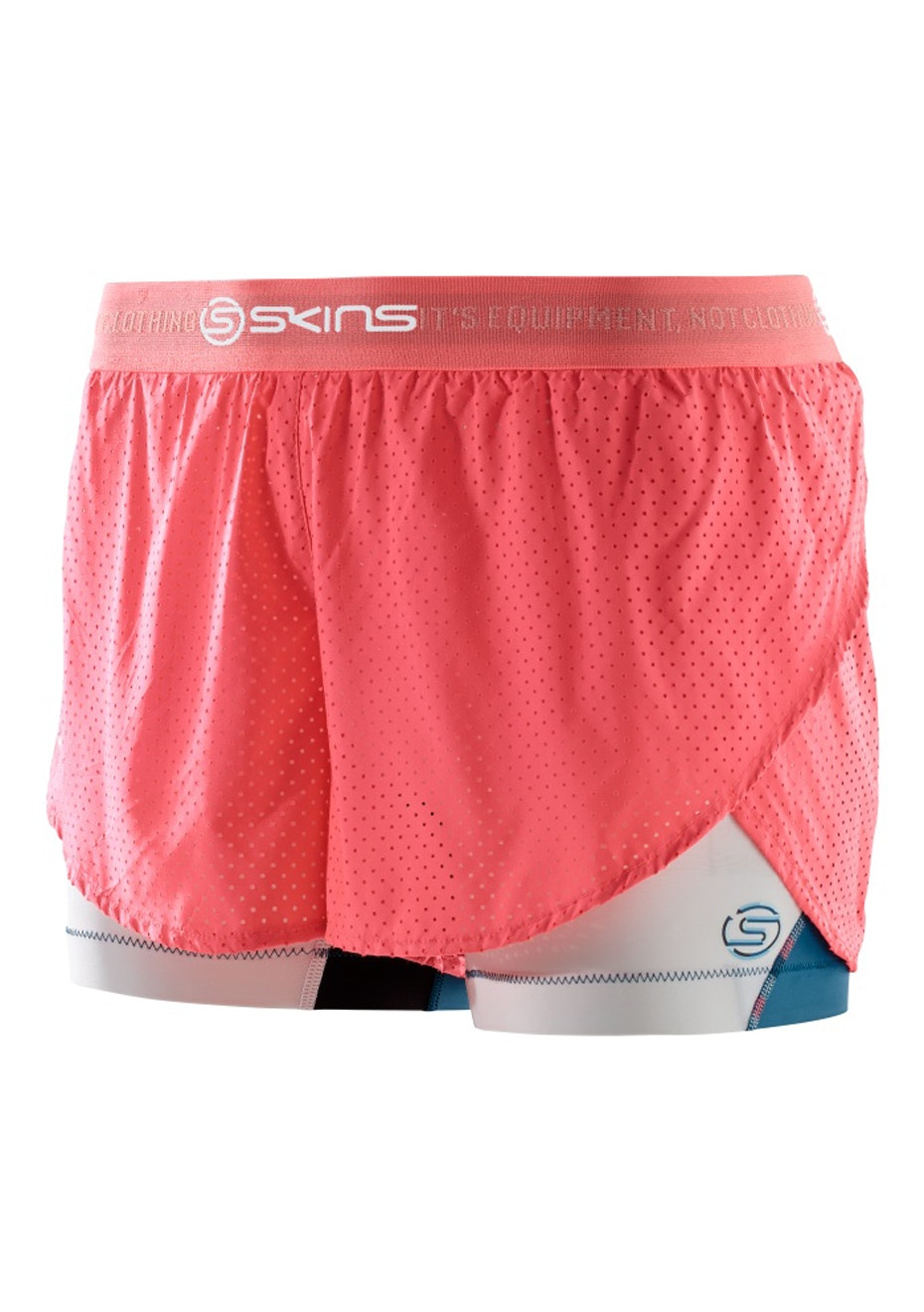 Skins - DNAmic Womens Superpose Short Cerulean