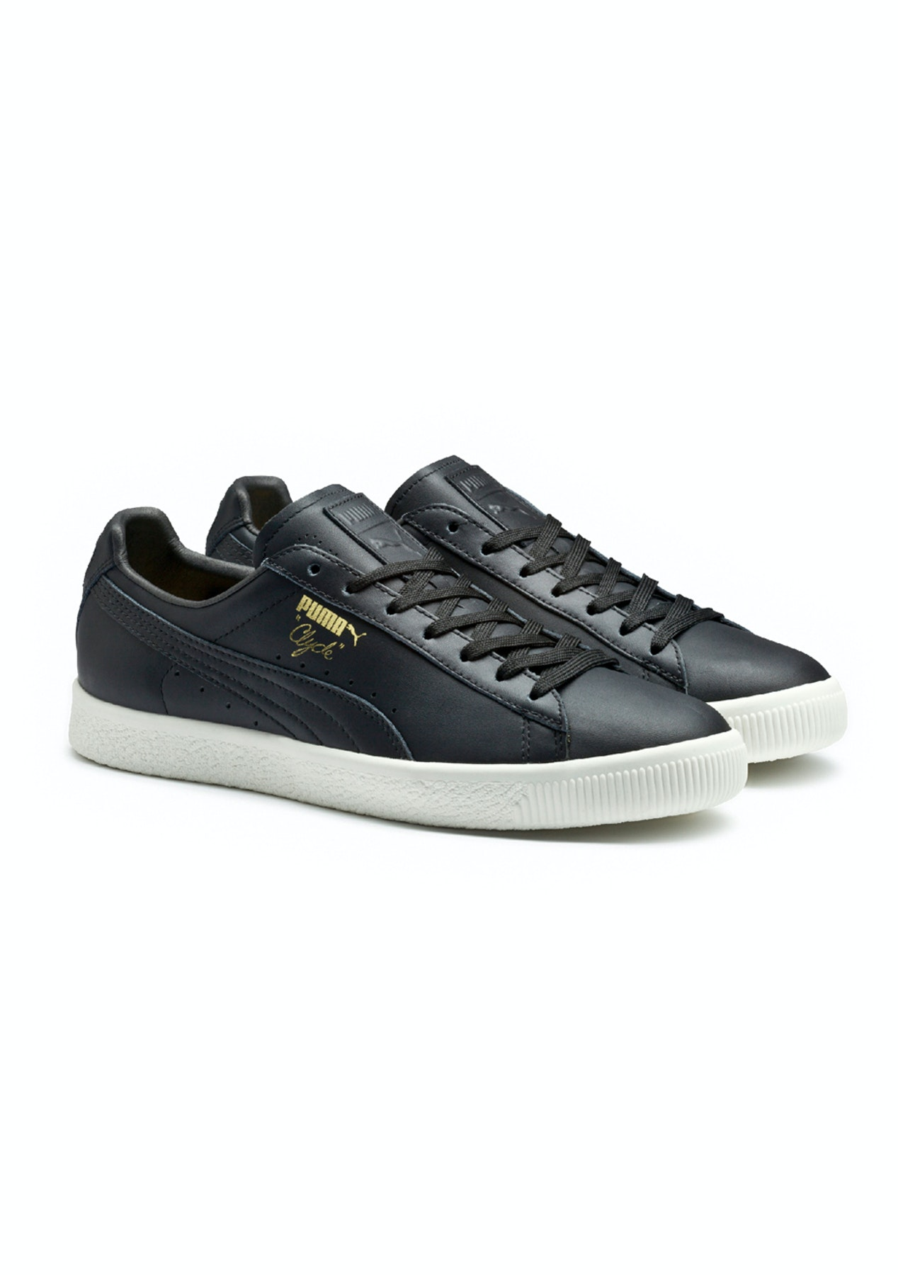 3aef35297c1 Puma Mens - Clyde Natural - Black - Free   Fast Shipping Shoe Sale - Onceit