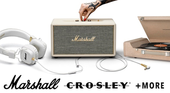 Marshall, Crosley & More