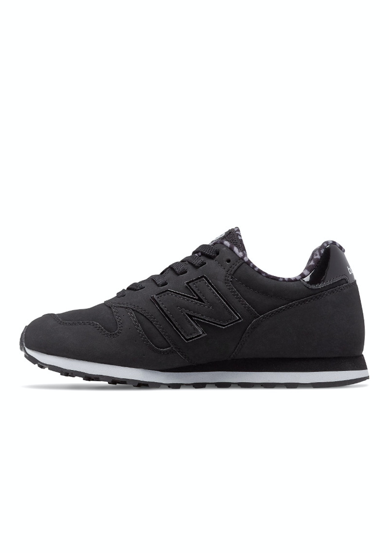14dc4ab17400f New Balance - Womens 373 - Black / White - Street Shoes + Slides - Onceit