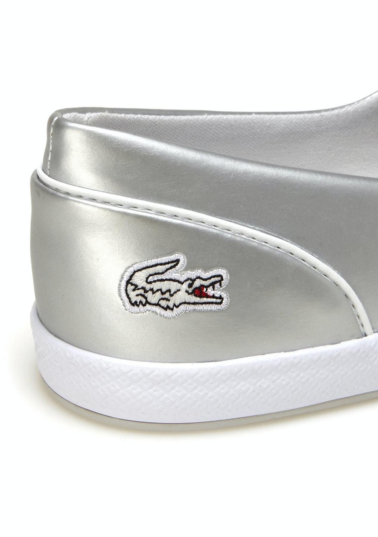 32253383c707 Lacoste - Womens Lancelle 3 Eye 117 1 Light Grey - Footwear Outlet - Onceit
