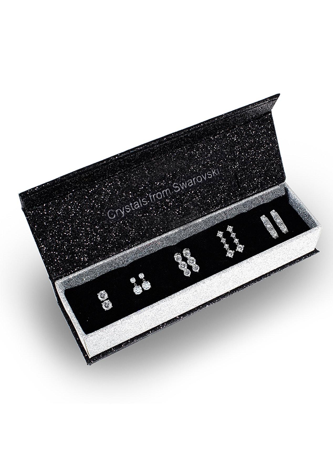 Boxed Swarovski Crystal Earring Set - 5 Pair - Best of Swarovski Elements -  Onceit 10d737cdd