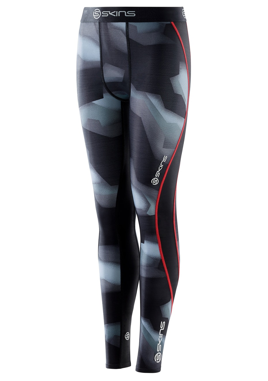 Skins - DNAmic Youth Long Tights Glitch Camo