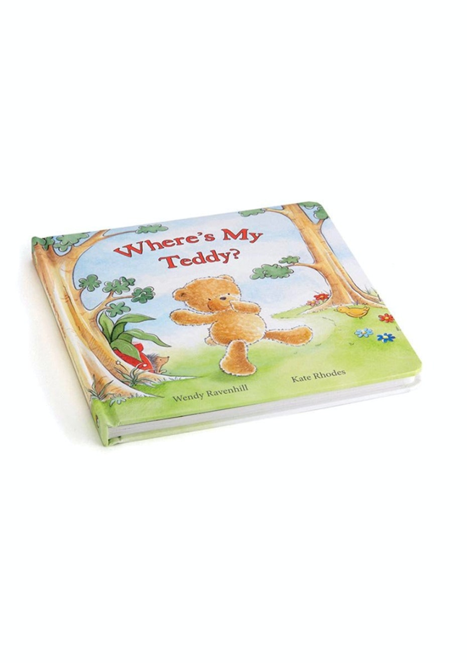 Jellycat - Where's My Teddy? (Bashful Bear Book)