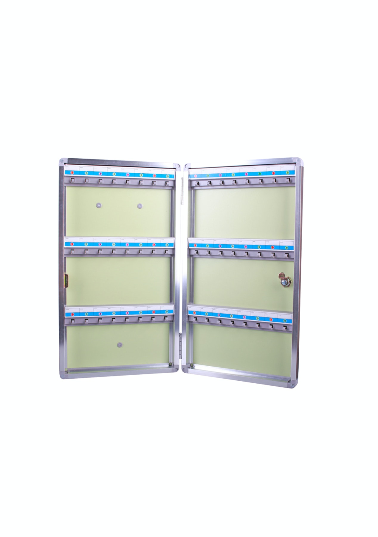 48 Key Cabinet Organizer Wall Mounted Home Storage Essentials Onceit