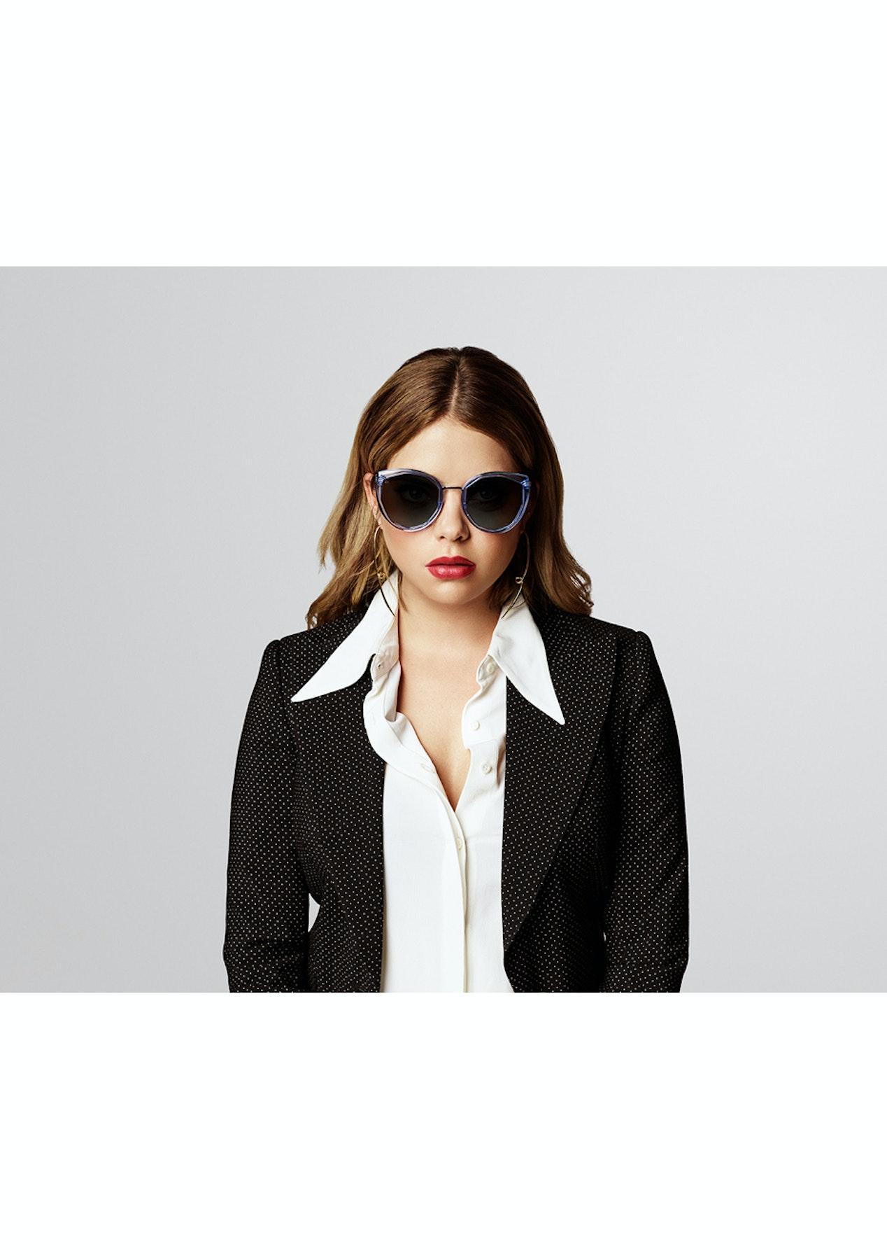 ba3bb115f0 Prive© Revaux Women s The Artist Geometric Polarised Sunglasses - White - Prive  Revaux Sunglasses - Onceit