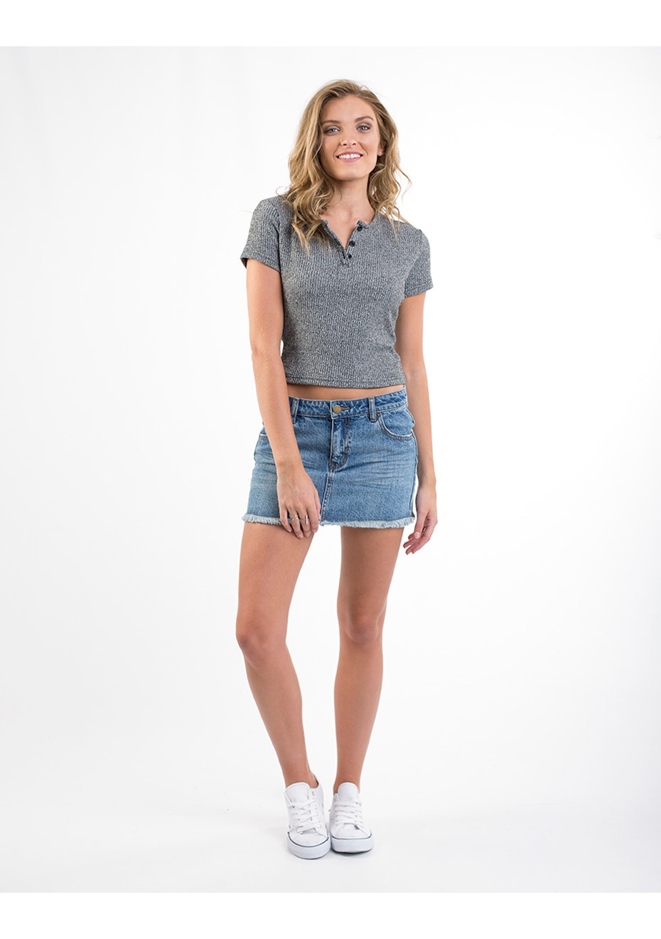 All About Eve - Jelly Crop - Grey Marle